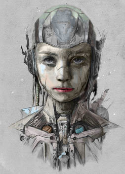 Portrait of a cyborg - Airiams Bro
