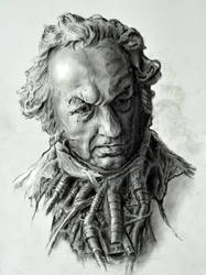 Head of Cyborg Goya