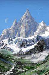 Spaceship Mountains