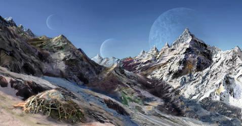 ruins on alien planet II