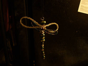 glass dragonfly by Glowyrm13