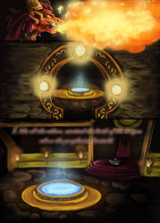 The Legend of Spyro -Comic- Chapter 1 Page 2 by Striscioline