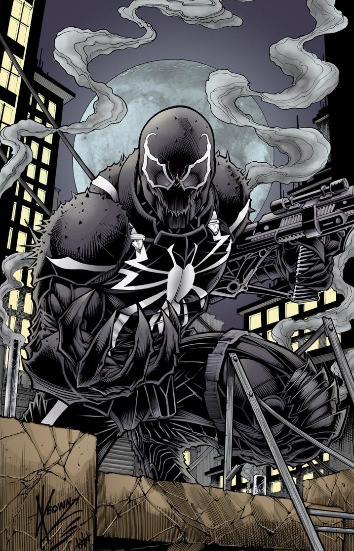 Agent Venom by firepunk626