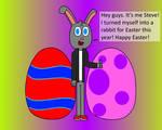 Rabbit Steve by PrinceStickFigure