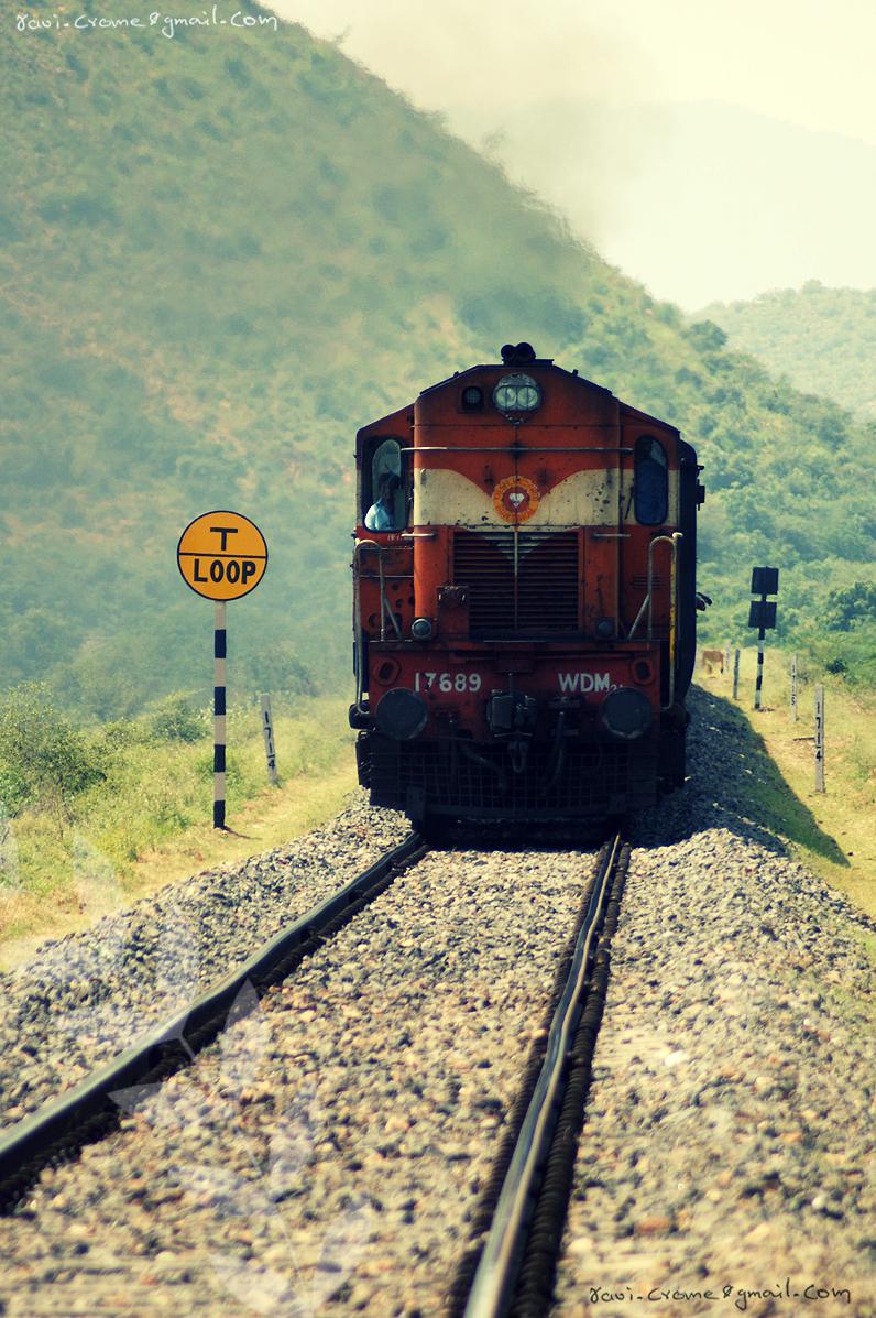 train by ravivarma