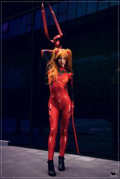 Asuka Langley Souryuu cosplay