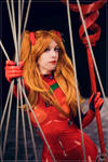 Asuka Langley Souryuu cosplay