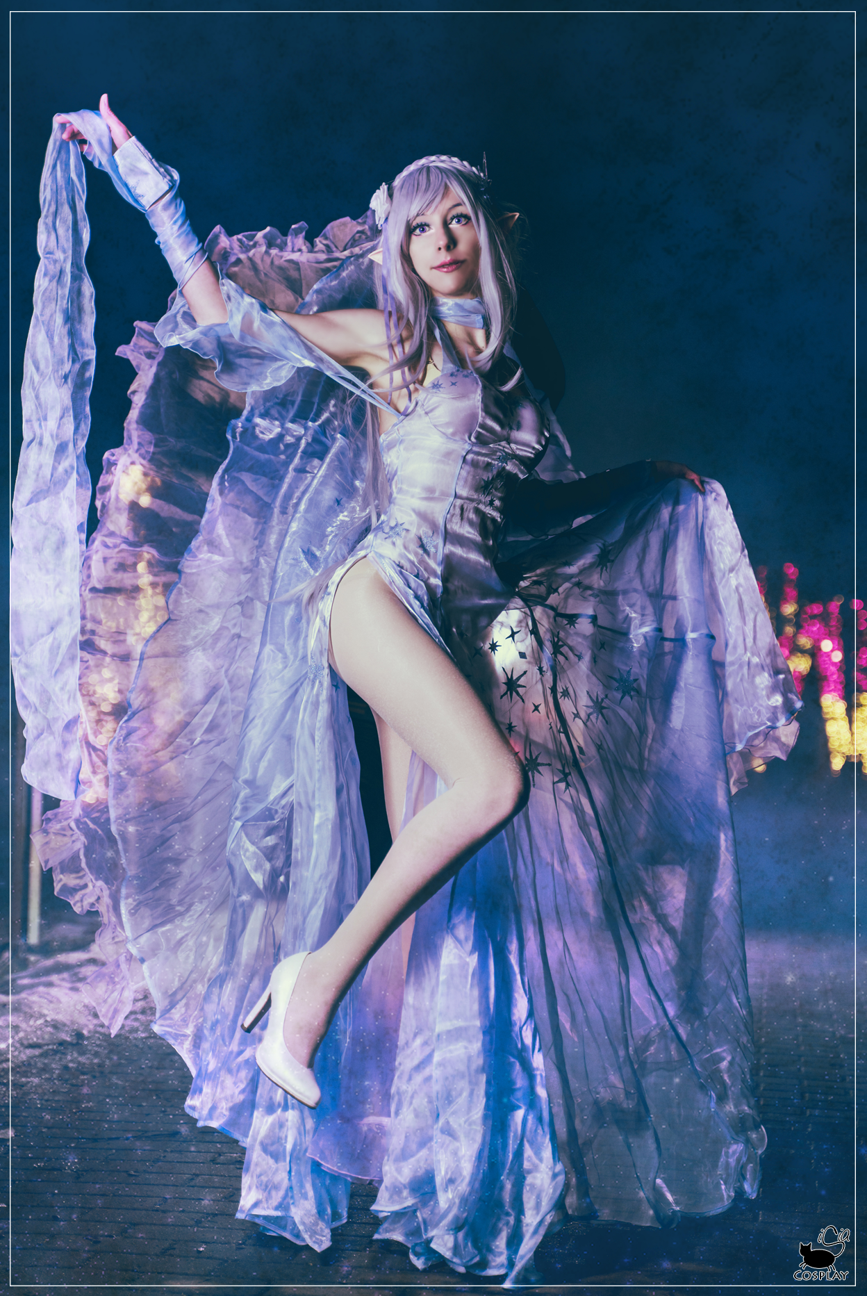 Emilia cosplay