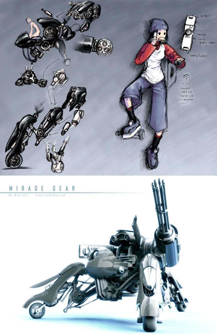 :2006: Mirage Gear by Mikeinel