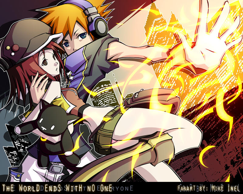 The world ends with no one by Mikeinel