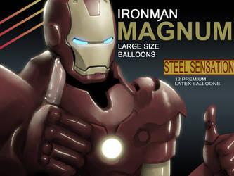 Iron man MAGNUM by Mikeinel