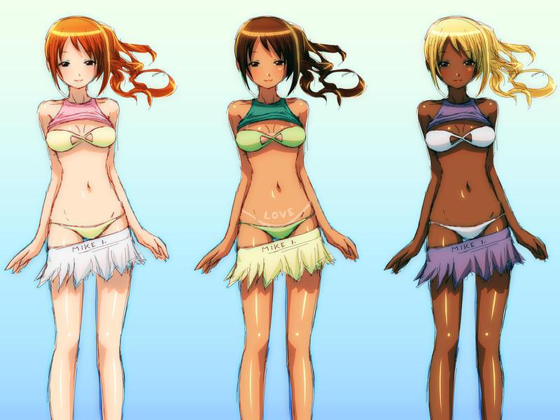 Bikinis by Mikeinel