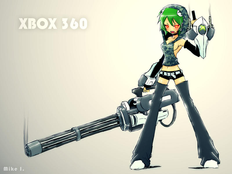 Xbox 360 by mikeinel on deviantart - Xbox anime gamer pictures ...