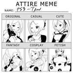 Whatever Meme :PS3-tan: by Mikeinel