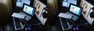 Computers IIIN THREEE DEEE by Mikeinel