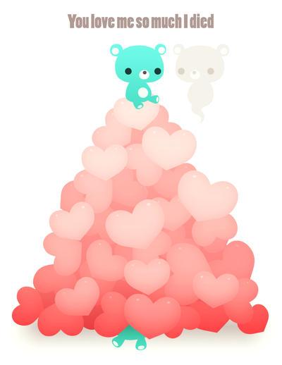 So Much Love I Died :Valentine's: by Mikeinel