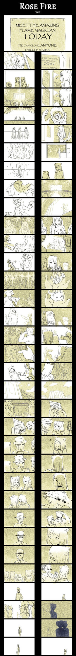 Rose Fire :Page 1: