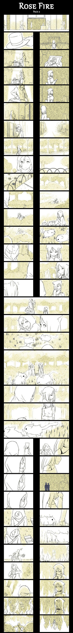 Rose Fire :Page 2: by Mikeinel