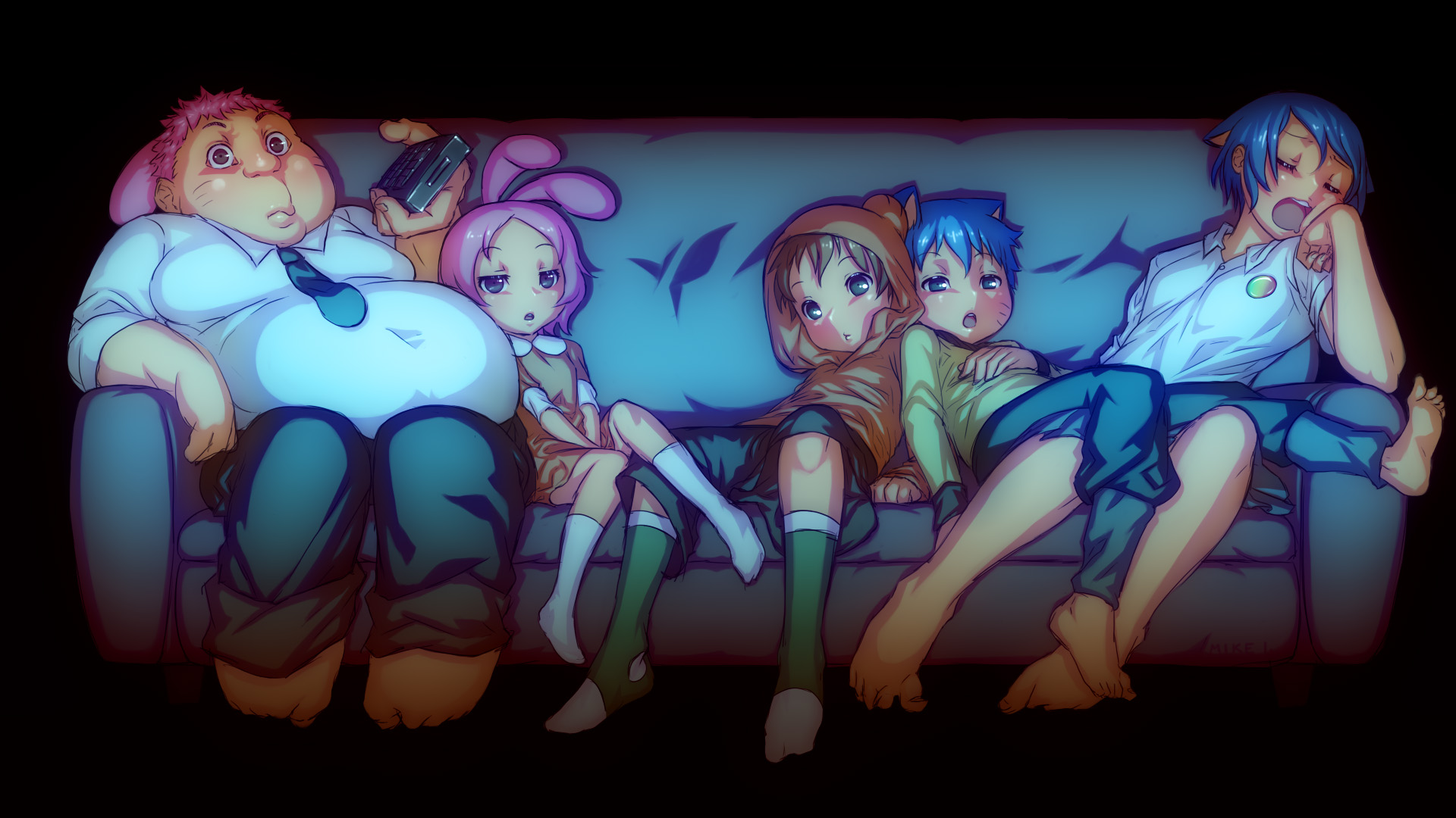 Watterson Family by Mikeinel