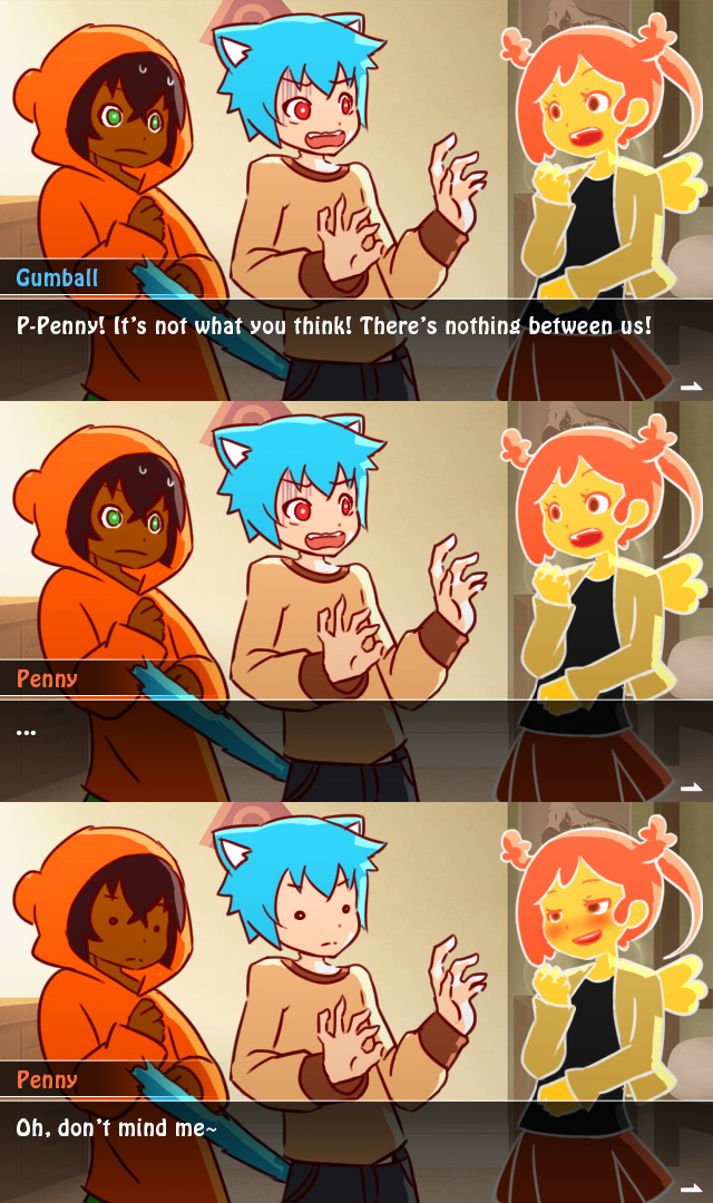 the amazing world of gumball visual novel fake by