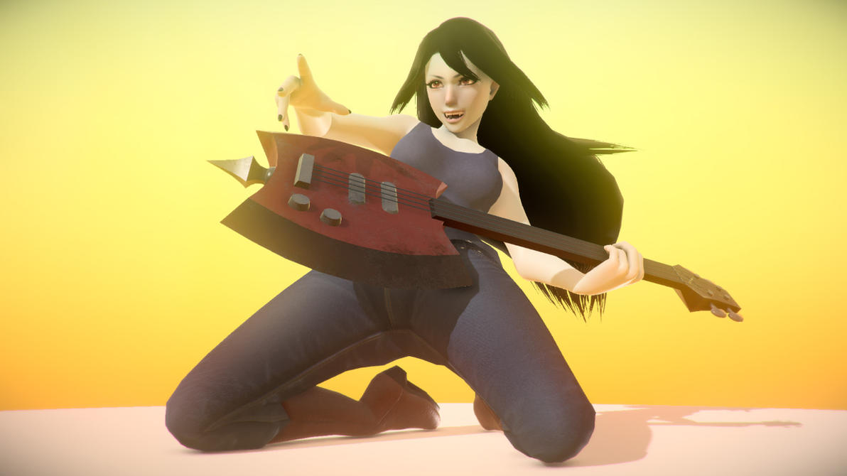 Marceline Pose (v1.0) by Mikeinel