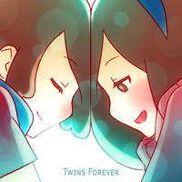 Twins Forever (SoundCloud Art) by Mikeinel