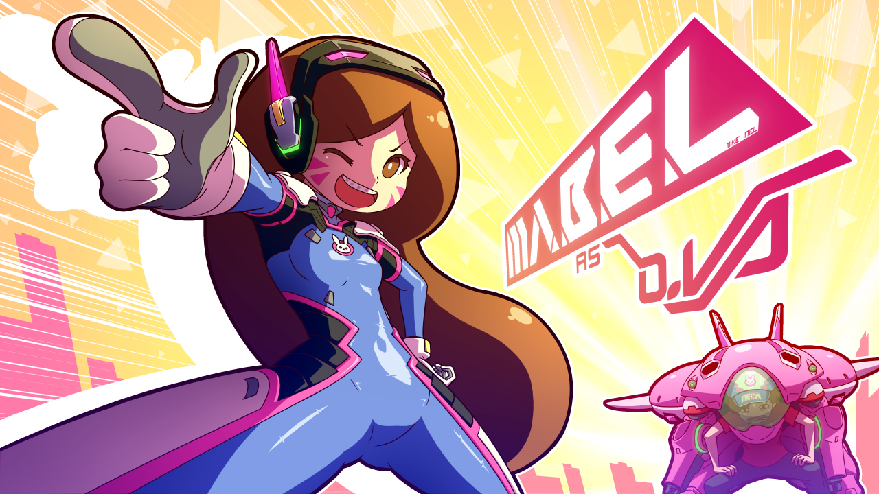 Mabel as D.Va by Mikeinel on DeviantArt