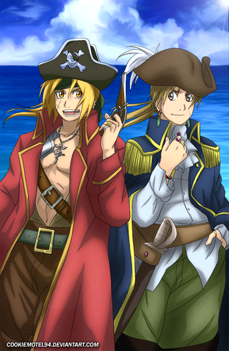 Pirate Brothers by cookiemotel94