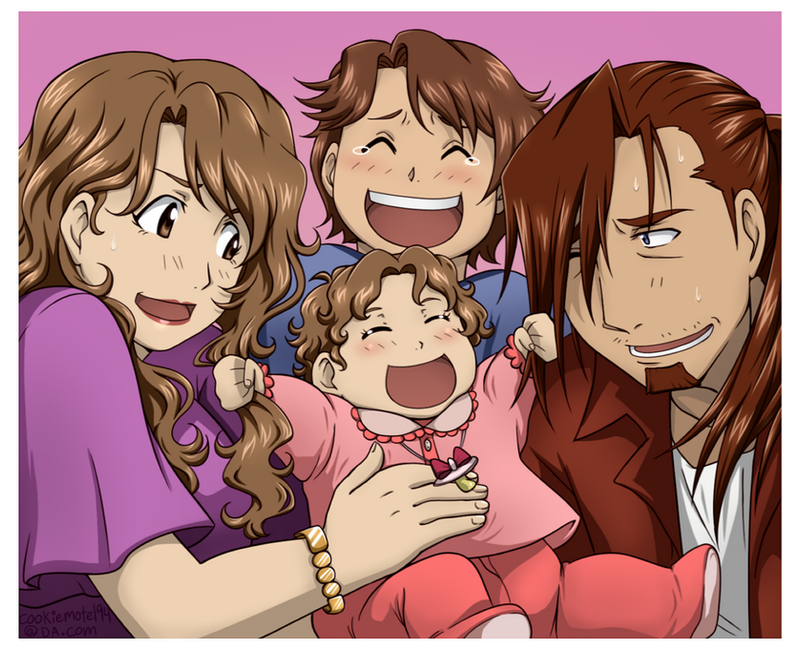 Beloved Family by cookiemotel94