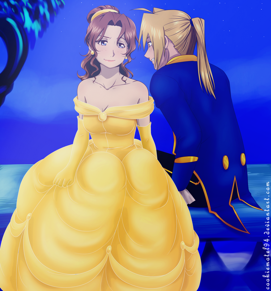 Beauty and the Beast by cookiemotel94 on DeviantArt | 862 x 927 jpeg 93kB