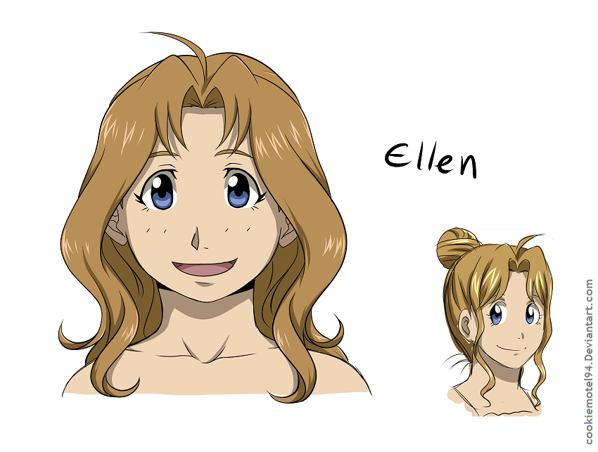 Ellen redesigned by cookiemotel94