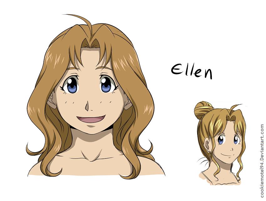 Ellen redesigned by cookiemotel94