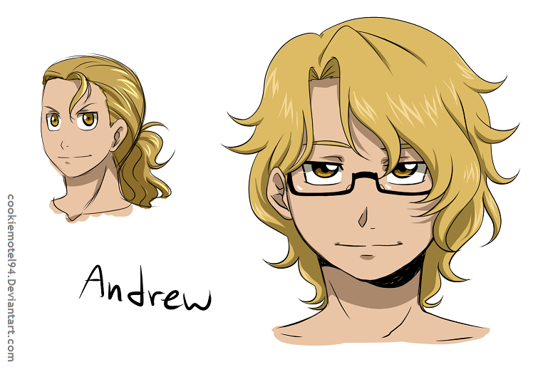 Andrew redesigned by cookiemotel94
