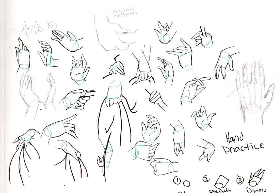 hand ref by naokokitsune on deviantart