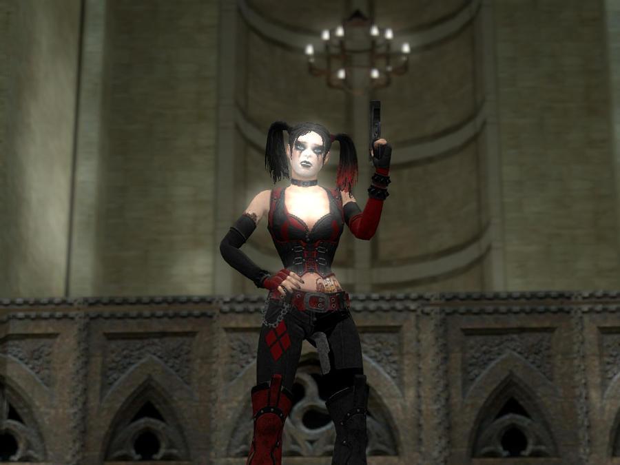 Harley Quinn's Revenge Skin by GiganZeGreat on DeviantArt