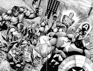 The avengers by NethoDiaz