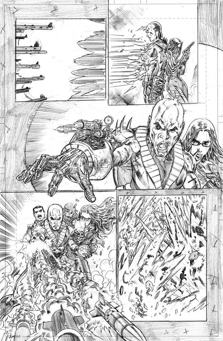 GI JOE ARAH #254 PAGE 14 PENCILS by NethoDiaz