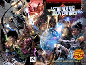 Astounding Adventures double cover