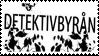 Detektivbyran stamp by sparkIedog
