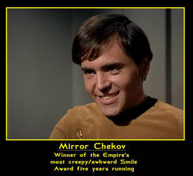 Mirror Chekov Again by neenabluegirl