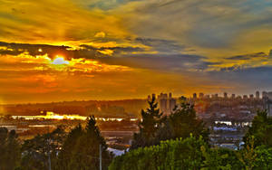 Beautiful West Coast Sunset by grant-erb