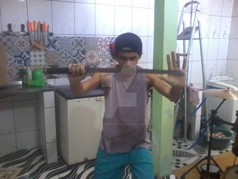 Swords pose-11