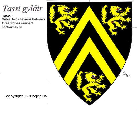 New Heraldic Device by t-subgenius