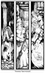 Ichema: Yezaide Triptychon by Asarea