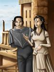 Cardassian Couple by Asarea