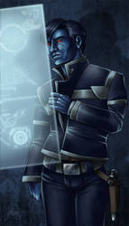 Blue in Blue by Asarea