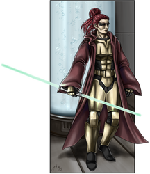 Jedi Knight Alynia Aldamar by Asarea