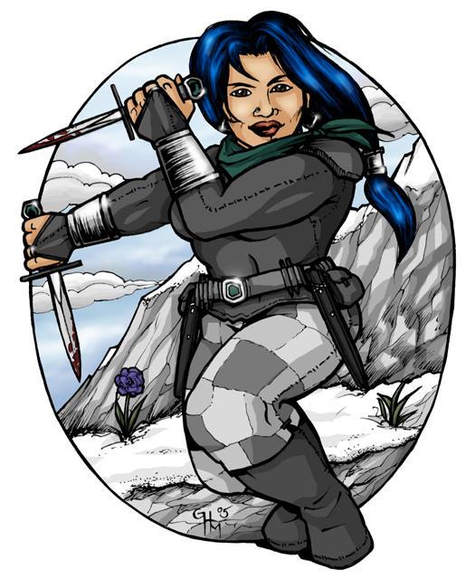 Arescha - Dwarven Rogue by Asarea