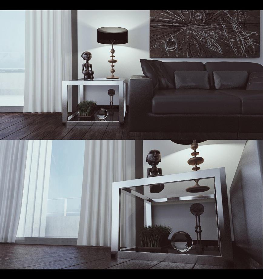 Living Room Test By Vonthorr On DeviantArt