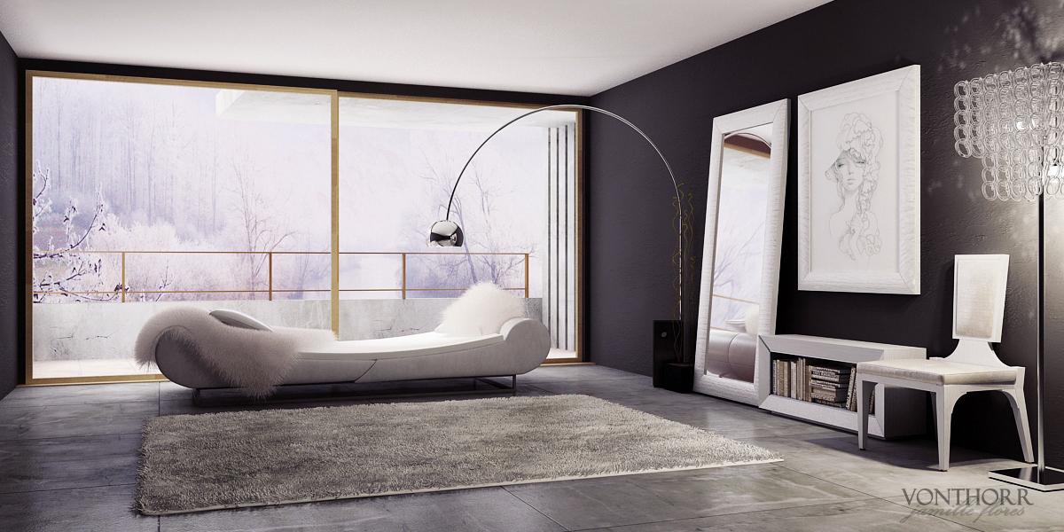 Winter Room by vonthorr
